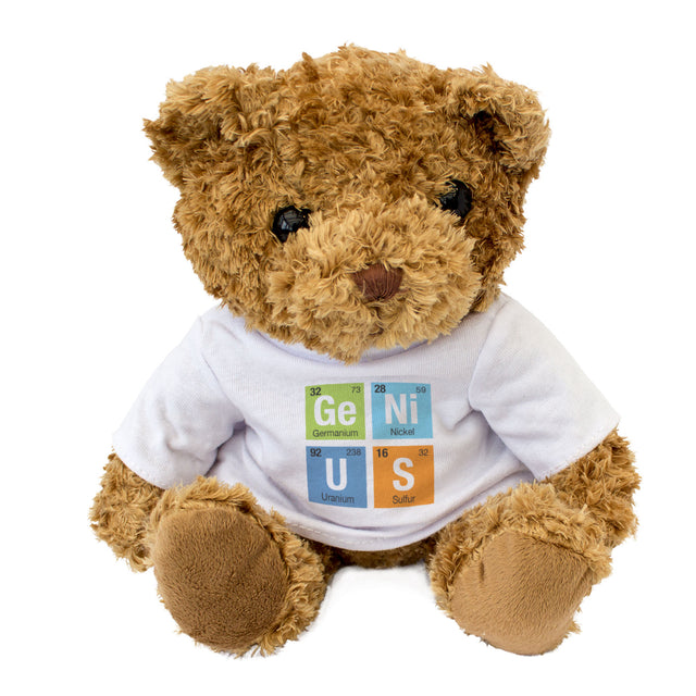 Genius Teddy Bear Periodic Tables Gift
