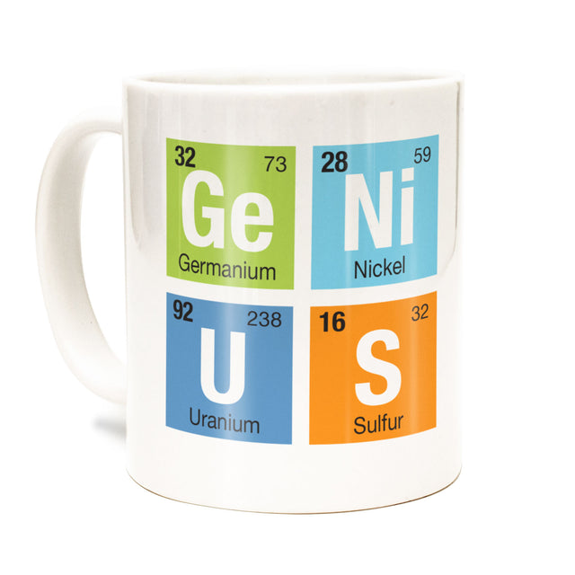 Genius Coffee / Tea Mug - Periodic Table of Elements