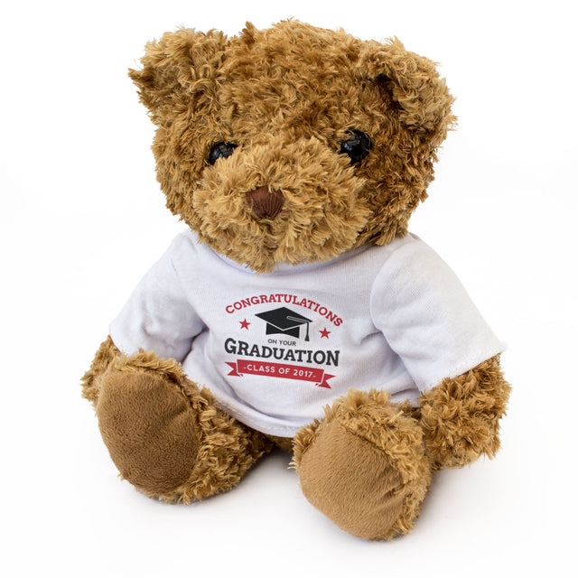 Congratulations Graduation Teddy Bear Graduation Gift
