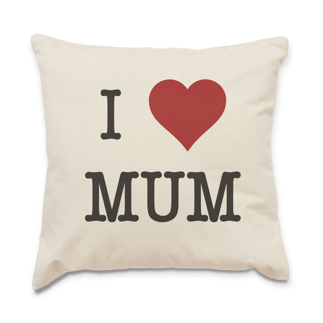 I Heart Mum Cushion Cover