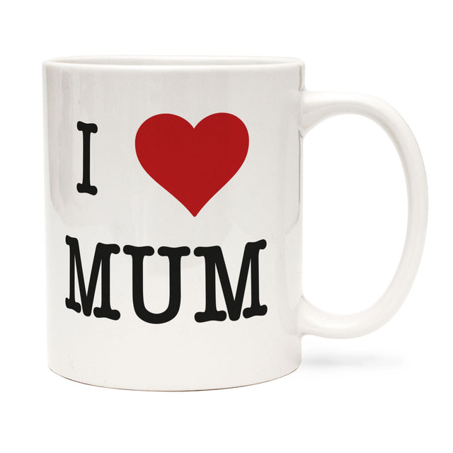 I Heart Mum Mug coffee or tea mug