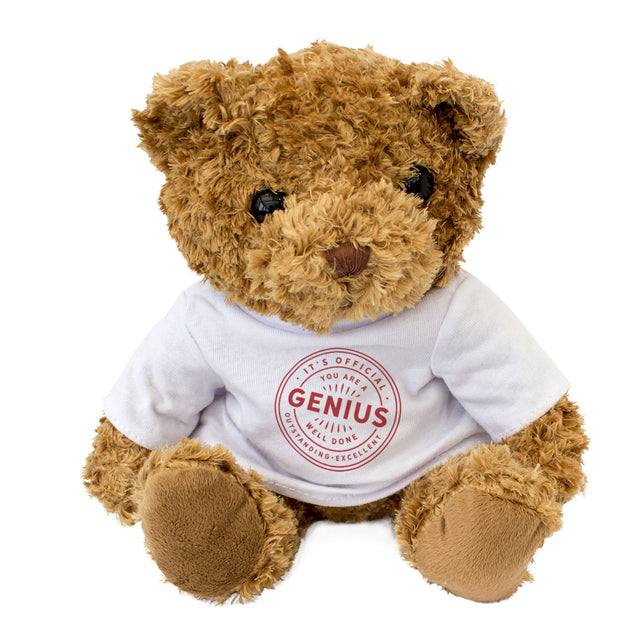 Well Done Genius Teddy Bear Congratulations Gift