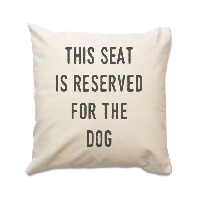 Reserved For The Dog Cushion Cover