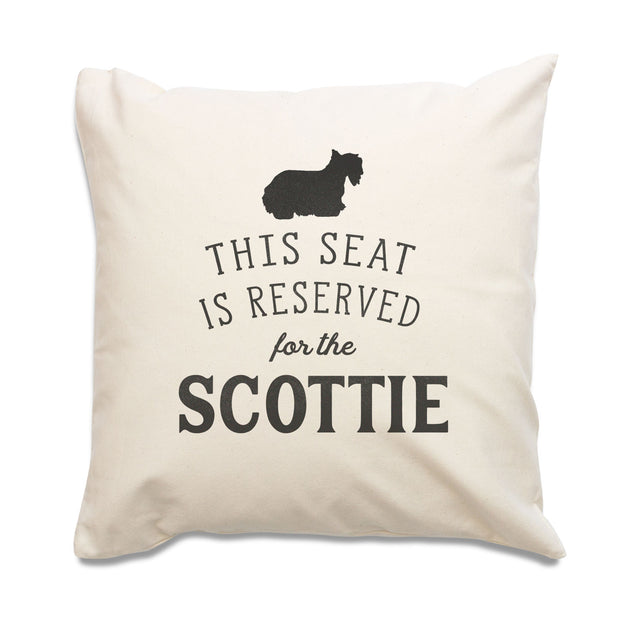 Reserved for the Scottie Cushion Cover