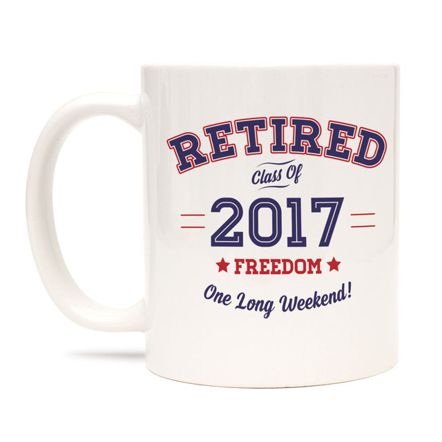 Retired Mug Retirement Gift