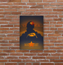 Placa decorativa Super Mario Kart - 19x29