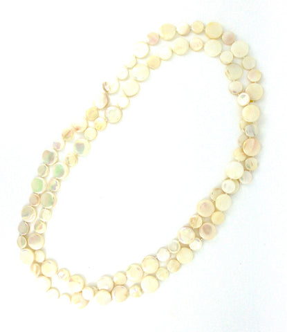 White Single Strand Mother of Pearl