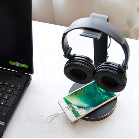 Image of 4 Port USB Headset Stand
