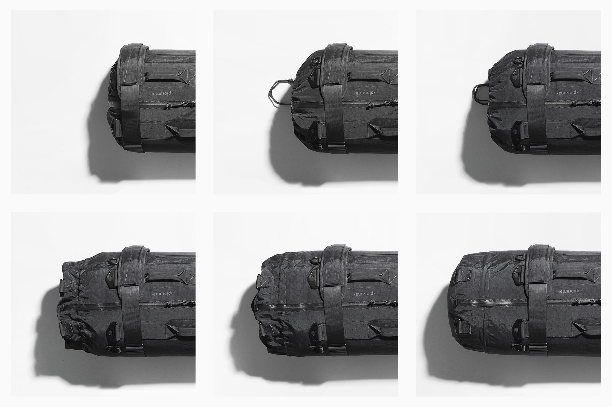 The Adjustable Bag A10 Expandable Collapsible Duffel Bag