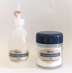 Winz Glazing Powder 75g and Liquid 200ml Combo set - SureBuyUSA