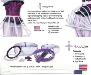 Free Hoop Wire Sample Card - HoopWire.com