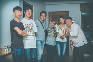 11 Mar 2015 - Vera & Brandon & Ardy-Eka - Cat Breeder - China & Indonesia