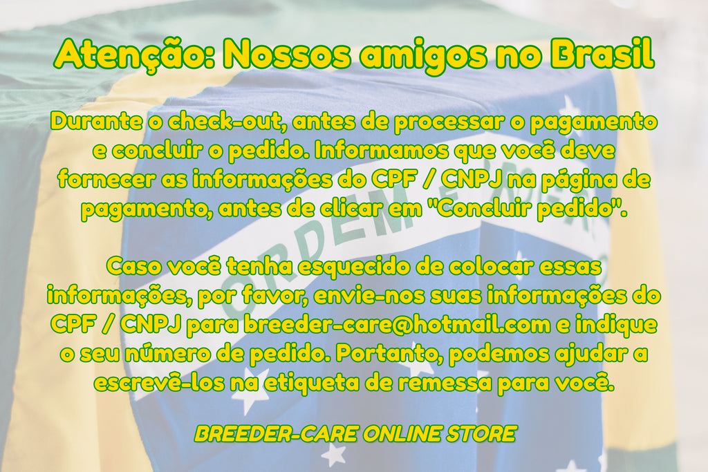 Attention To: Our Friends in Brazil