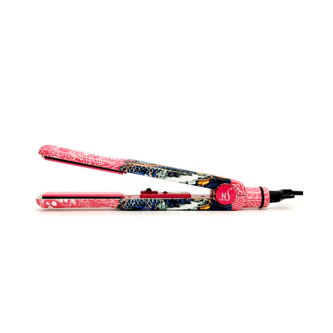 Tattoo Pink Ceramic Hair Straightener