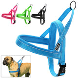 No Pull Nylon Quick Fit Reflective Stitching Dog Harness