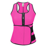 Neoprene Sauna Waist Trainer Vest Hot Shaper Summer Workout Shaperwear Slimming Adjustable Sweat Belt Fajas Body Shaper *USPS*