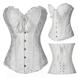 X Sexy Women steampunk clothing gothic Plus Size Corsets Lace Up boned Bustier Waist Cincher kopcet Body shaper corselet S-6XL