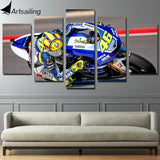 HD Printed race moto Painting Canvas Print room decor print poster picture canvas Free shipping/cu-349