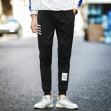 Spring Casual Pants Men Sweat Pants Male Cotton Sportswear Casual Trousers Straight Pants Hip Hop High Street Trousers Pants