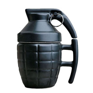 Creative Grenade Coffee Mugs  Practical Water cup with Lid Funny Gifts Granada creativa taza de cafe