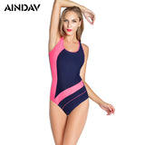 New!Women Professional Sport Triangular Piece Swimsuit One Piece Swimwear Bathing Suit Brazilian Bathing Suit S to XXL Size B062