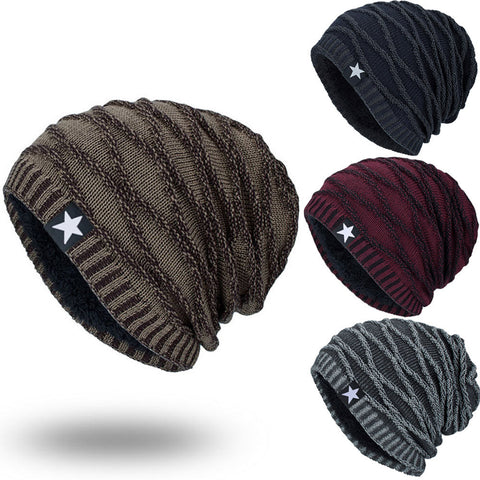 Unisex Knit Cap Hedging Head Hat Beanie Cap Warm Outdoor Fashion Hat