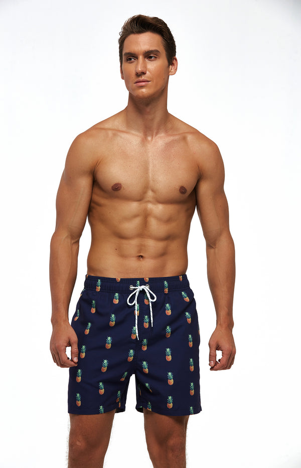 Suslo Couture Pineapple | Swim Trunk