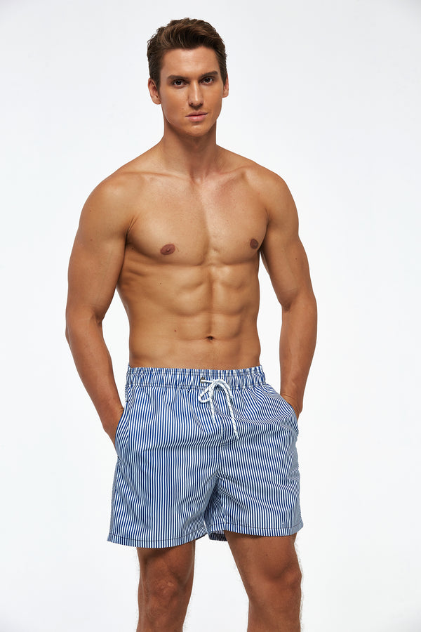 Suslo Couture Stripes | Swim Trunk