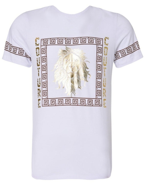 Suslo Couture White Tiger | FOIL T-Shirt