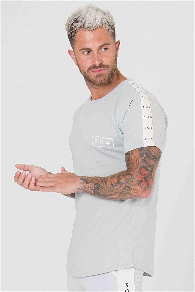 304 Clothing Cult Tee - Grey - 3