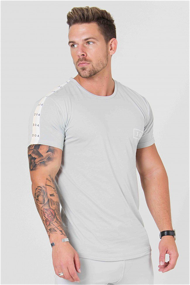 304 Clothing Cult Tee - Grey - 4