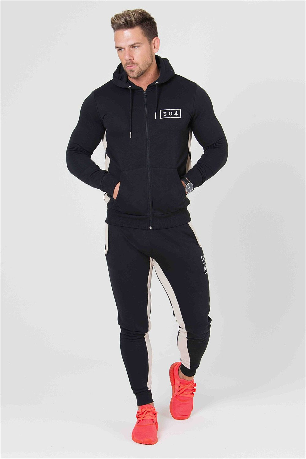 304 Clothing RJ Joggers - Black - 1