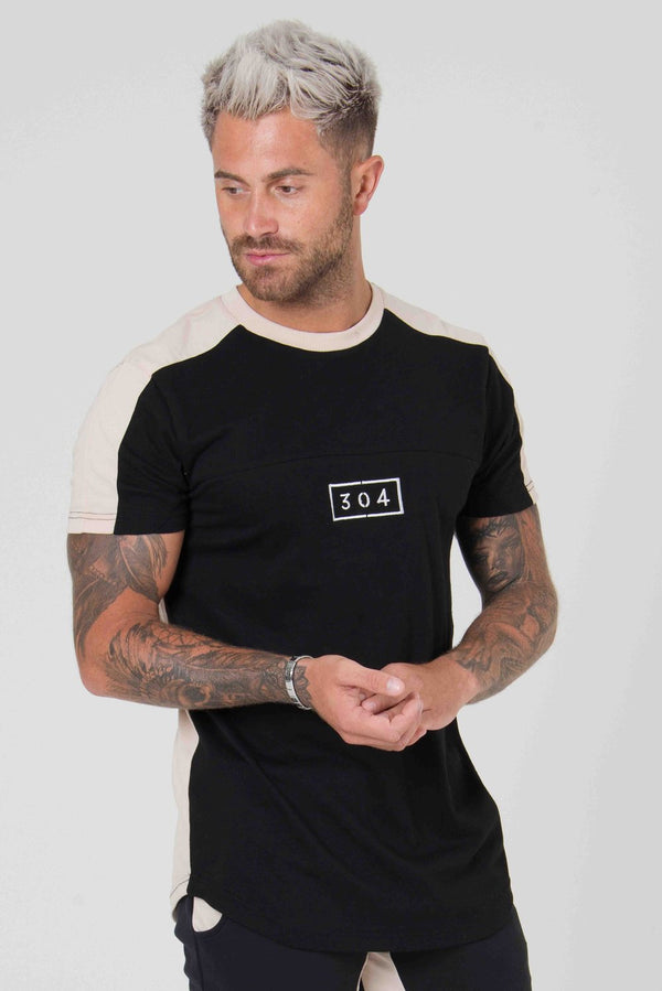 304 Clothing  RJ Tee - Black - 1