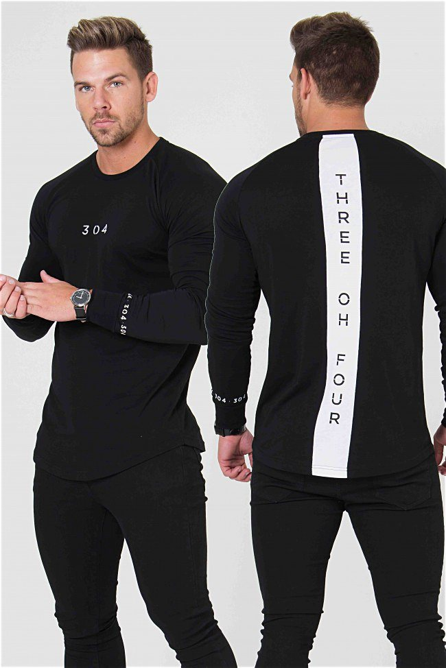 304 Clothing Venice Long Sleeve Tee - Black - 3