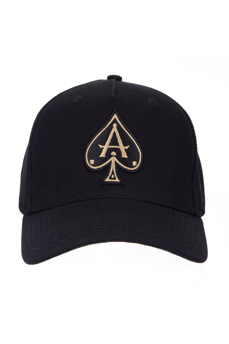 Ace Vestiti BaseBall Cap - Black/Gold - 1