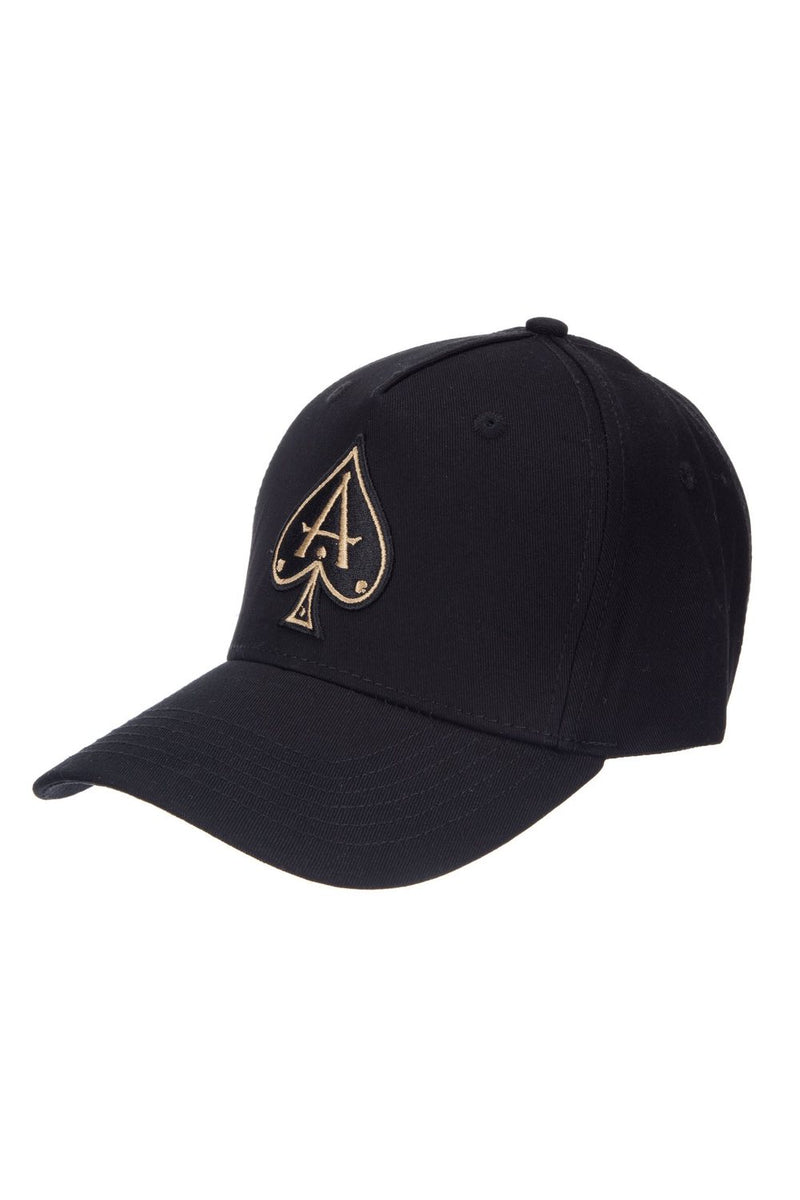 Ace Vestiti BaseBall Cap - Black/Gold - 2