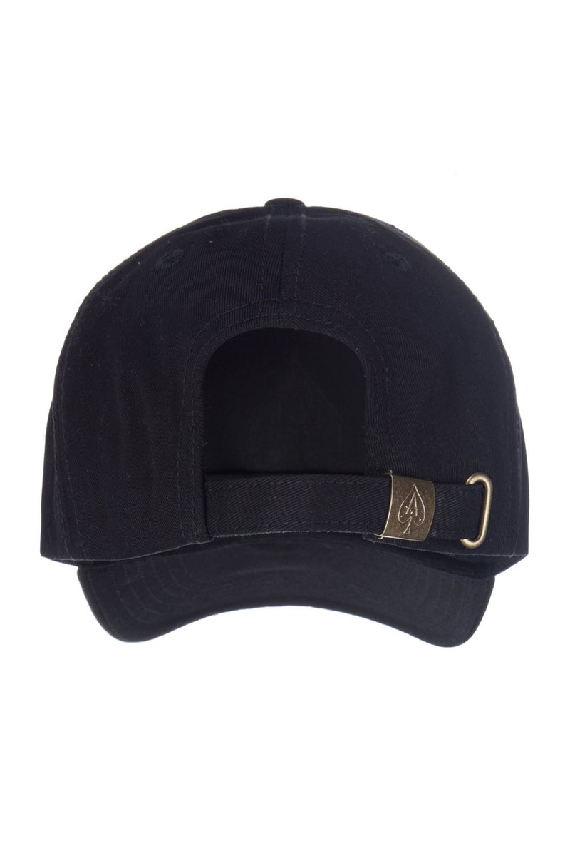 Ace Vestiti BaseBall Cap - Black/Gold - 3