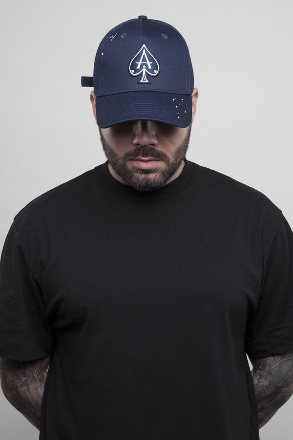 Ace Vestiti BaseBall Cap - Navy