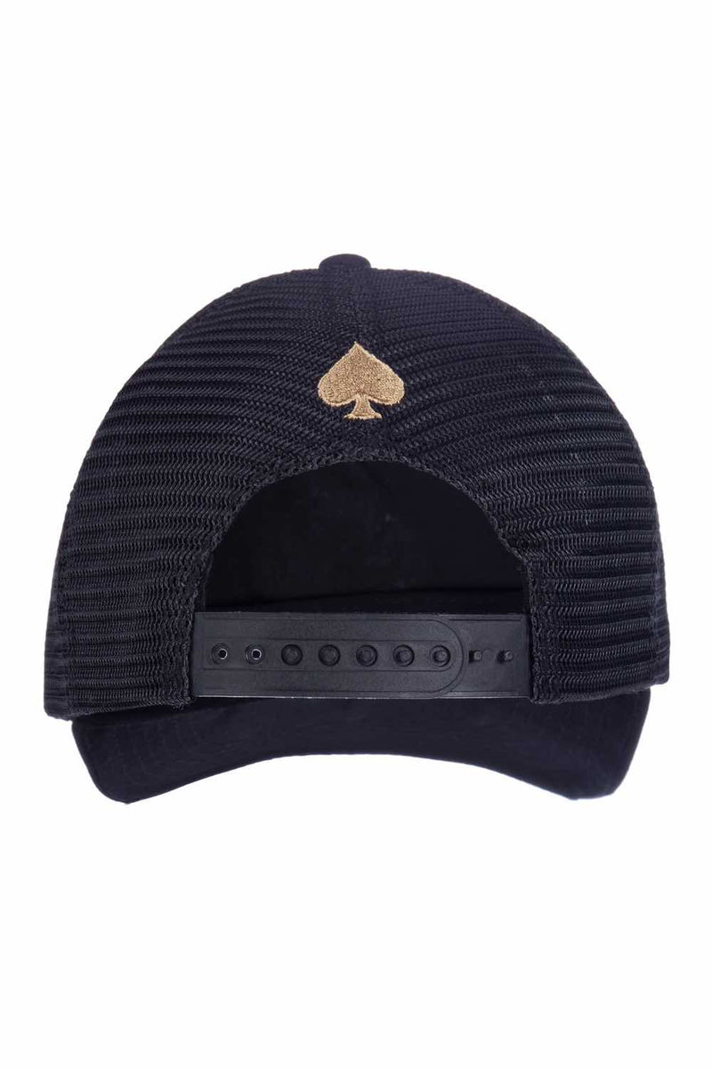 Ace Vestiti Golden Blossom Trucker - Black - 2