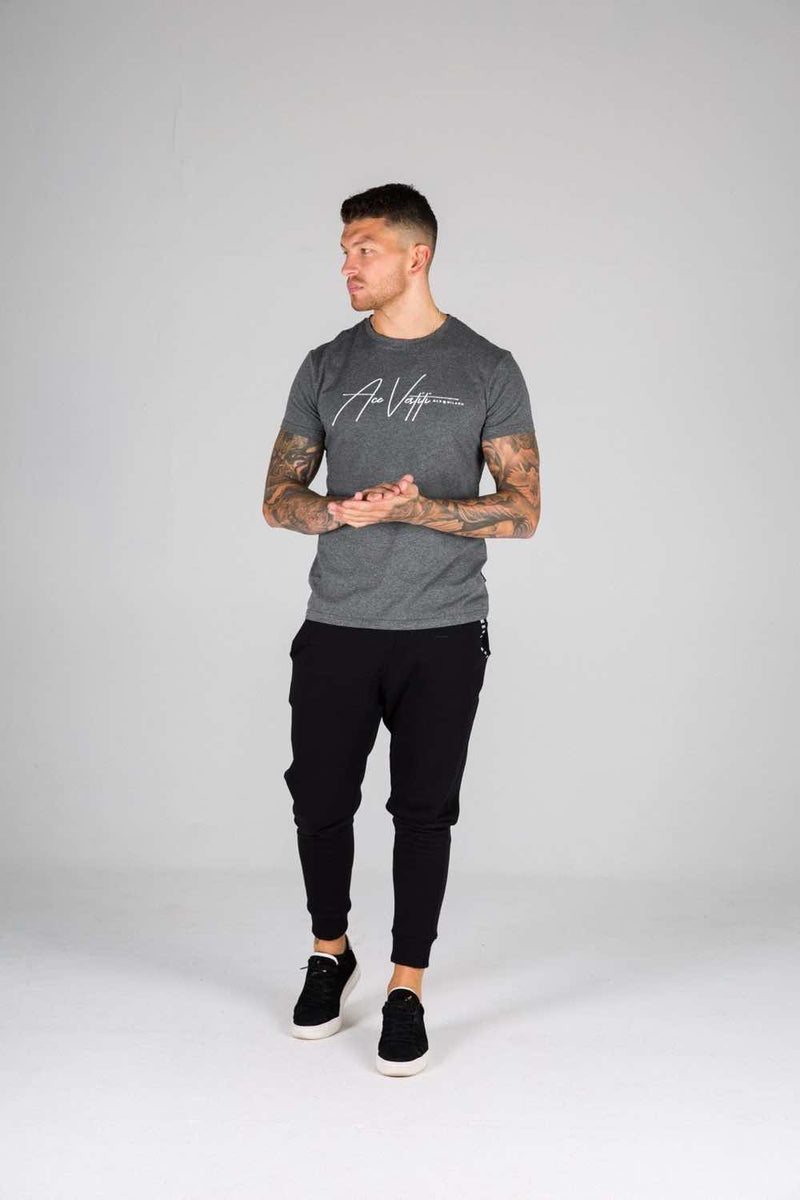 Ace Vestiti Signature T-Shirt - Grey - 2