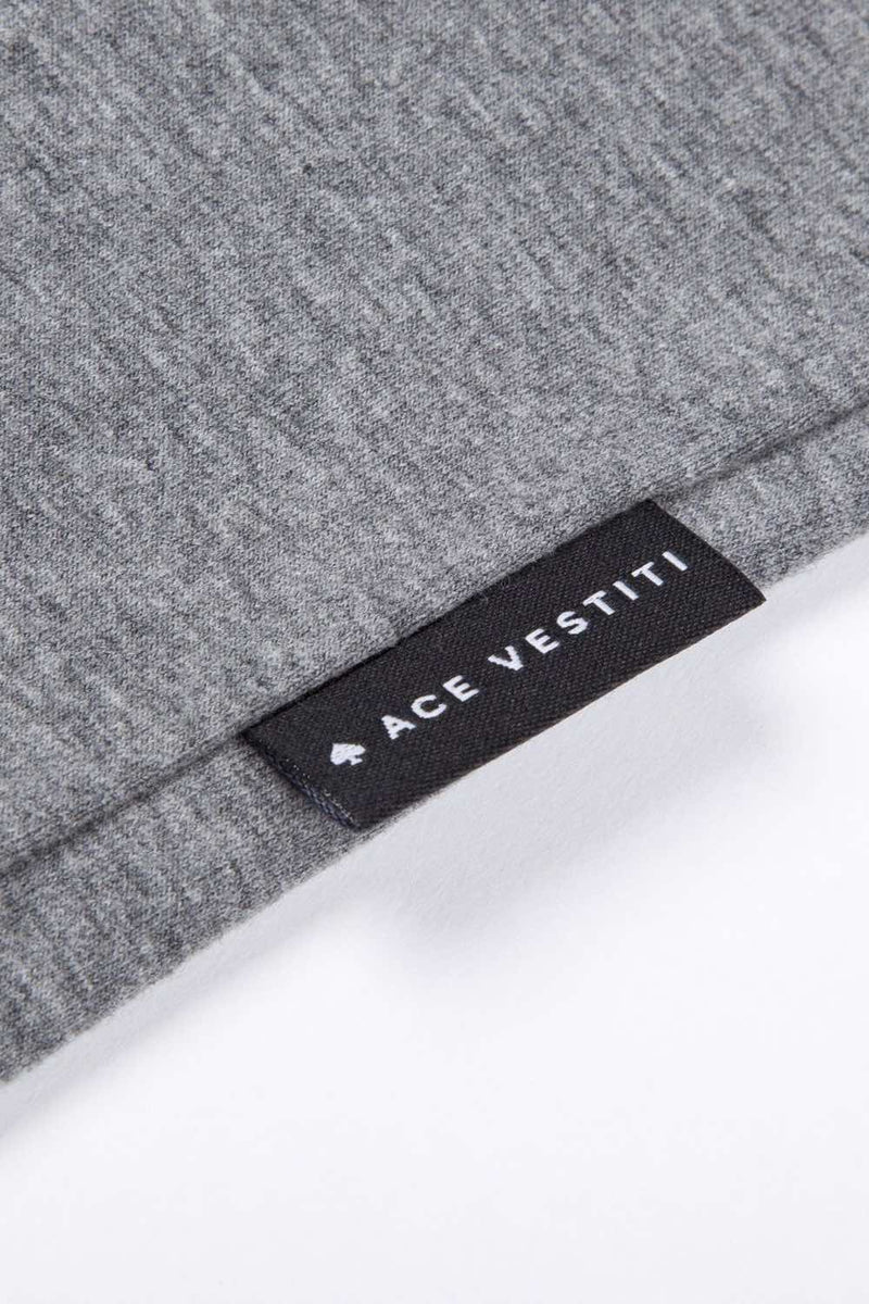 Ace Vestiti Signature T-Shirt - Grey - 3