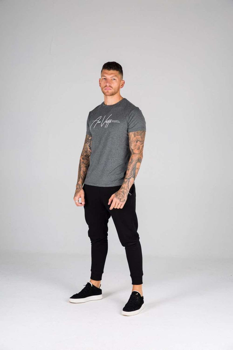 Ace Vestiti Signature T-Shirt - Grey