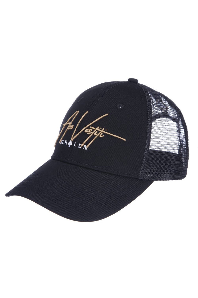 Ace Vestiti Signature Trucker Cap - Black/Gold