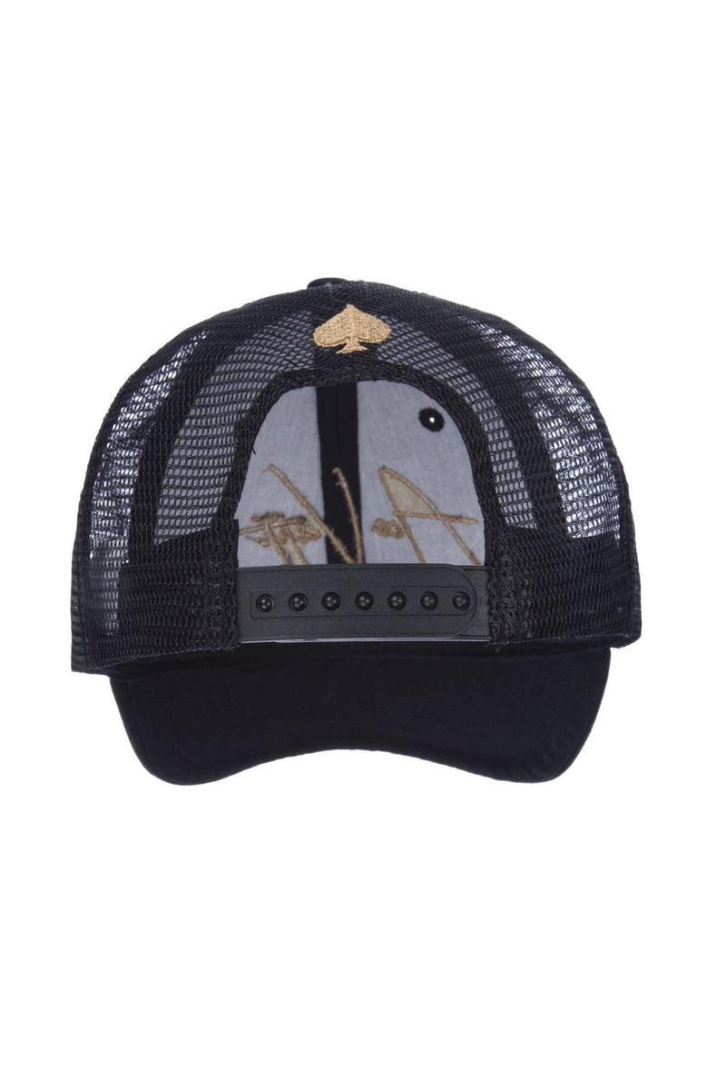 Ace Vestiti Signature Trucker Cap - Black/Gold - 2