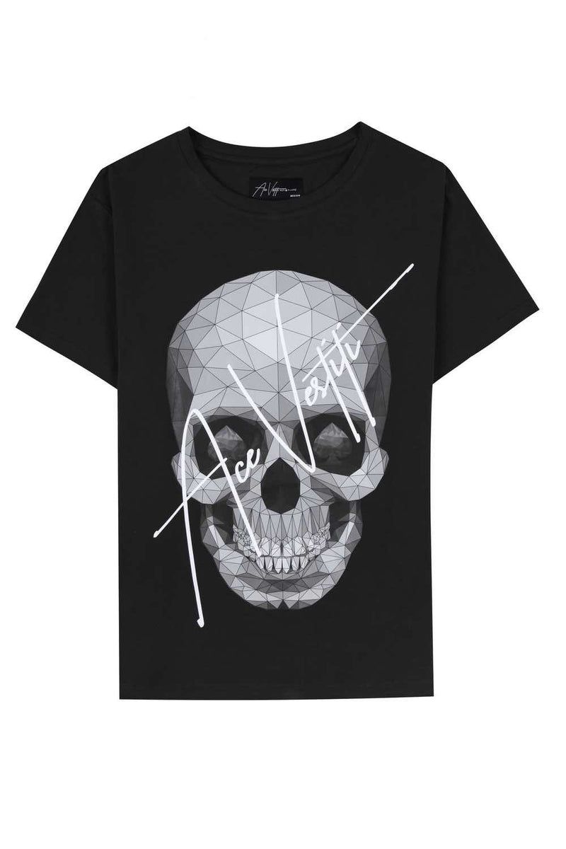 Ace Vestiti Skull Signature T-Shirt - Black - 1
