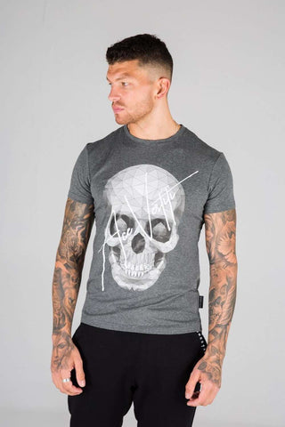 Ace Vestiti Skull Signature T-Shirt - Grey