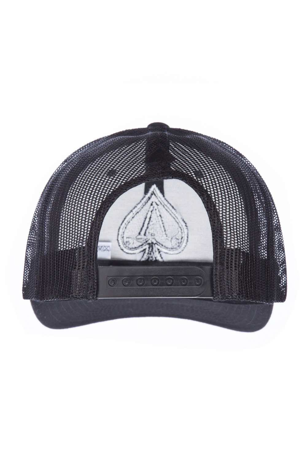 Ace Vestiti Trucker Cap - Black - 3