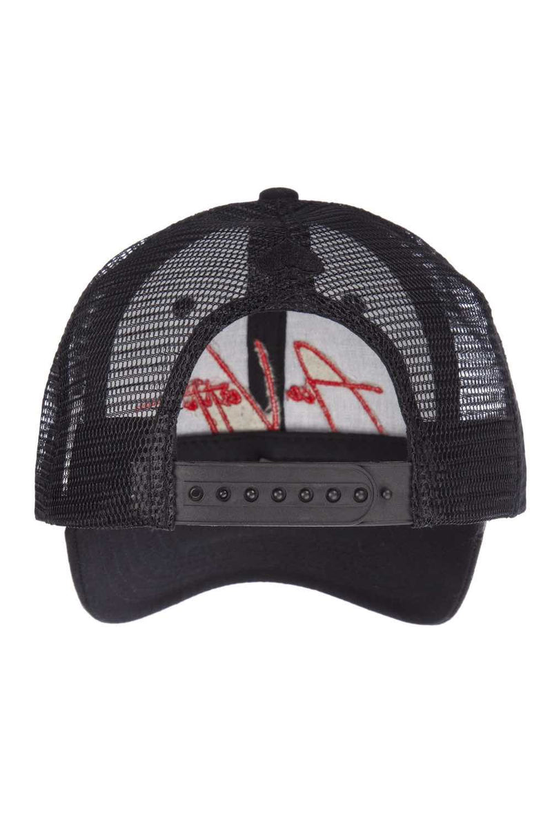 Ace Vestiti Signature Trucker Cap - Black/Red - 2