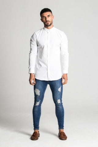 Aces Couture Long Sleeve Shirt - White - 1