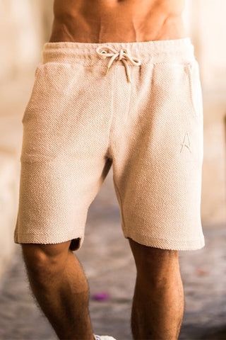 Aces Couture Shorts - Stone